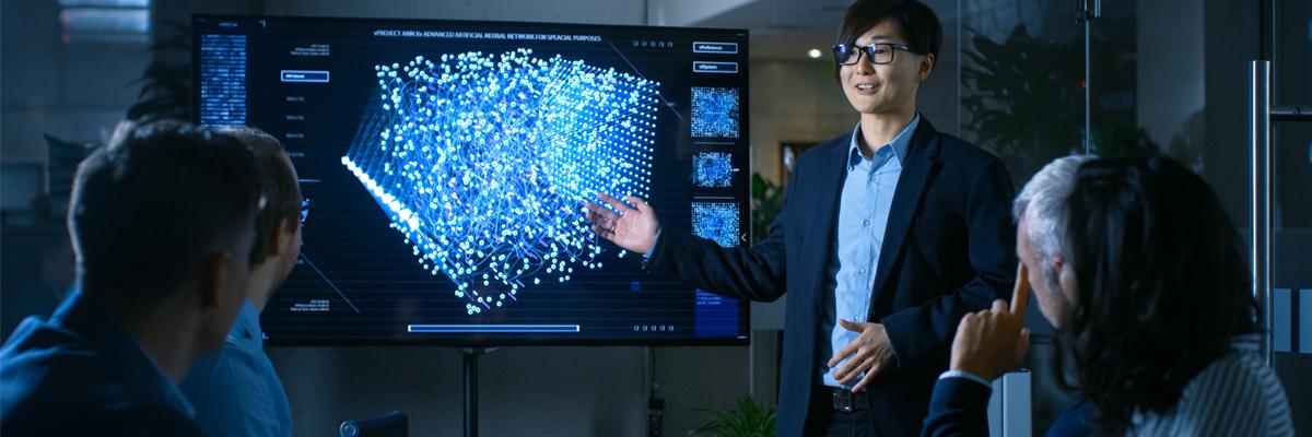 Presentation of digital twin