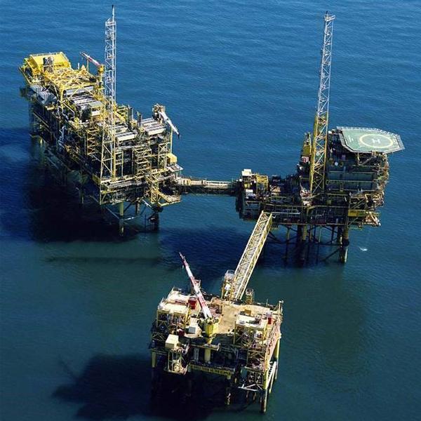 Rig in the north sea