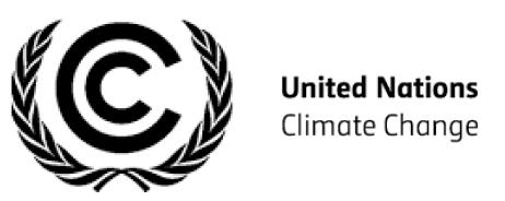 United Nations climate change logo