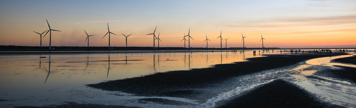 Picture of offshore windfarm